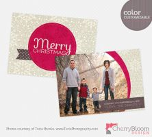 Winter Berry Card by CherryBloomDesign
