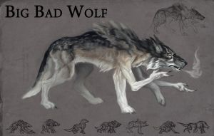 Big Bad Wolf by faxtar