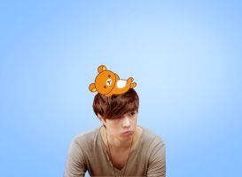 What's that on your head Yixing? by jaeliseop