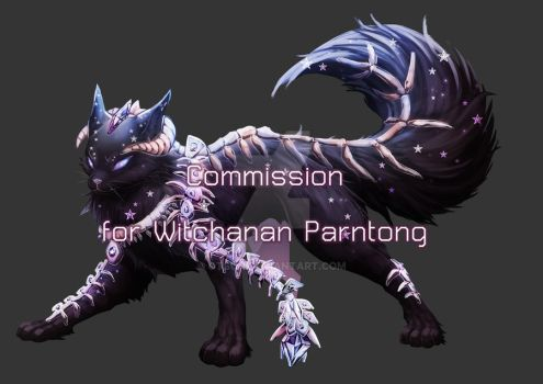 [Commission For Witchanan Parntong] Black Cargon by Otsun