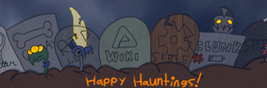 Awsmnts: Halloween Wiki Banner Contest Entry by ZootyCutie