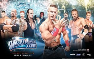 Wrestlemania XXVIII Wallpaper by i-am-71