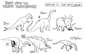 How Not To Draw Dinosaurs by Brad-ysaurus