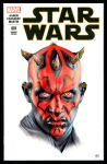 DARTH MAUL SKETCH COVER by S-von-P