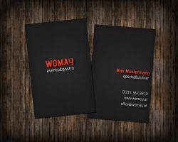 Womay business card by Goerni