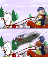 FE: Happy Holidays by Kilala04