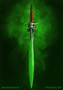 Fantasy Sword by Colin-Ashcroft