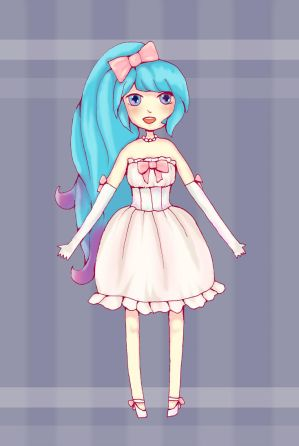 Outfit Design - Bubblegum by Ninelyn