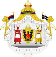 Federal Kingdom of West Ostmark Coat of Arms by SoaringAven
