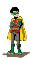 D is for Damian Wayne by Doomami