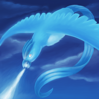 Articuno Used Ice Beam by naturalradical