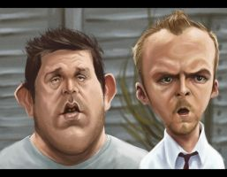 Shaun Of The Dead by Parpa