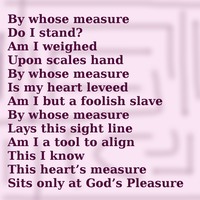 By Whose Measure by Hugabouv