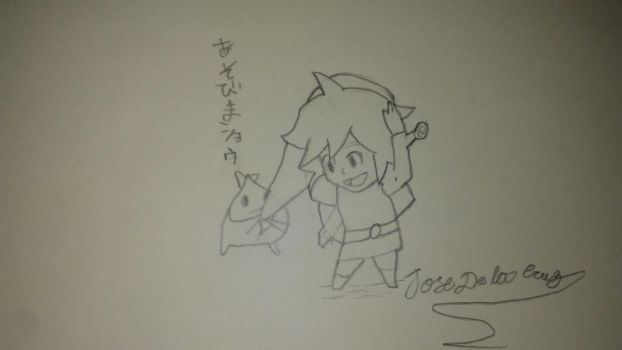 Link by animedrawer123455