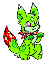 Cactus Brushfex Adoptable -closed- by ProudRyukin13