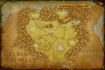 North Hyrule Field Map by TheRabidArtist