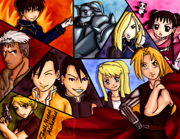 FullMetal Alchemist: Always With You by IcyPanther1