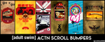 [adult swim] - ACTN Scroll Bumpers by JPReckless2444
