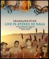 Grains of Solitude Live Poster by yubby