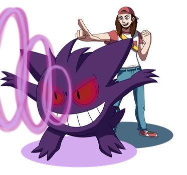 Gengar N Trainer by Stolken
