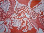 Red Bird by Amanthana