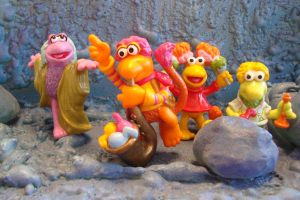 Applause Fraggles by WozzaFraggle