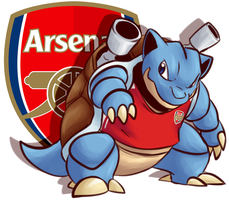 Pkmn x UEFA: Arsenal by BritishStarr