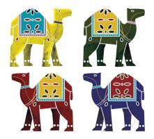 Indian Camels by arihoma