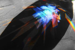 Reflection of a Prism Heart by SharPhotography