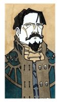 Dark Heresy (WH40K) Character: Sir Walter Nelson by dForrest