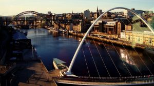 Early Morning on the Tyne by W00den-Sp00n