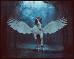 Forest Angel by Abyssus-Angelus