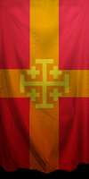 The Flag of the Empire of Jerusalem by ZhaneAugustine