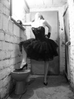 Lady of the... Toilette by plusaq