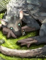 The Last Guardian by Sophie-Dragon