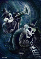 Calaveras Jazz by zarzo