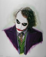 The Joker 'Number 2' by ChrisShaw1988
