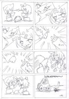 Rin and Len 4-koma 1 by LabJusticaholic