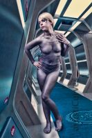 Seven of Nine body paint 3 by shelle-chii
