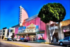 Fremont Theater, SLO - HDR by iFix