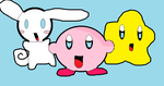 Starfy,Kirby,and Cinnamoroll! by CinnamorollisCute