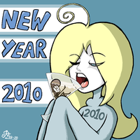 New Years 2010 by Rickz0r