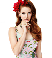 Lana Del Rey Png by thisisdahlia