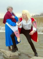 Howl and Sophie Cosplay Five by joshietakashima