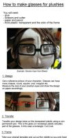 Plushy Glasses Tutorial by MarlinGrey