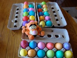 Colored Eggs Anyone? by botskey