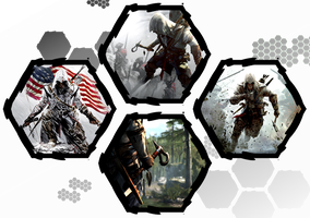 Assassin's Creed III by WE4PONX