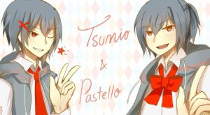 CR comm: Tsumio and Pastello by margecchi