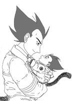 Father and Son by Vee-Freak