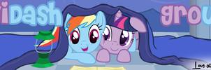 TwiDash Banner Contest Submission - Unshaded by Somepony